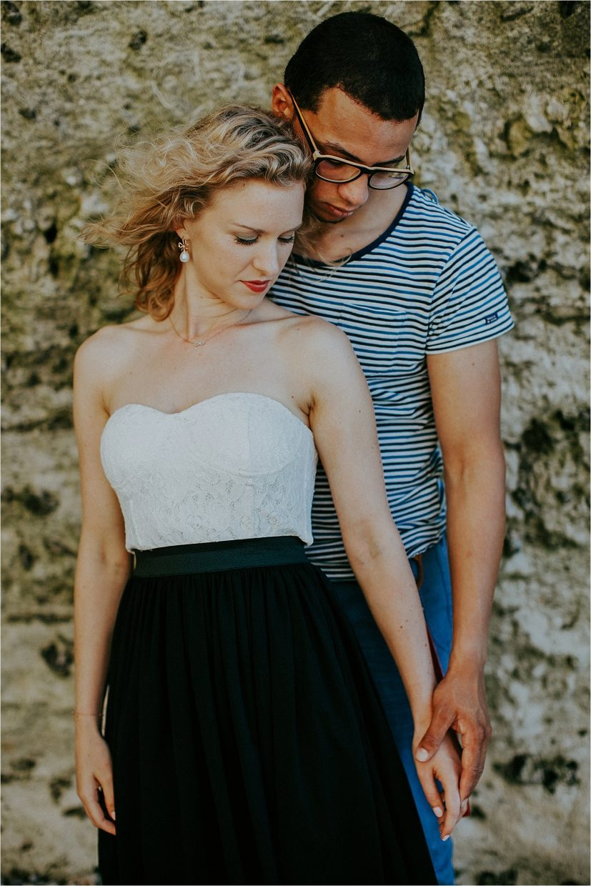 engagement session in normandy