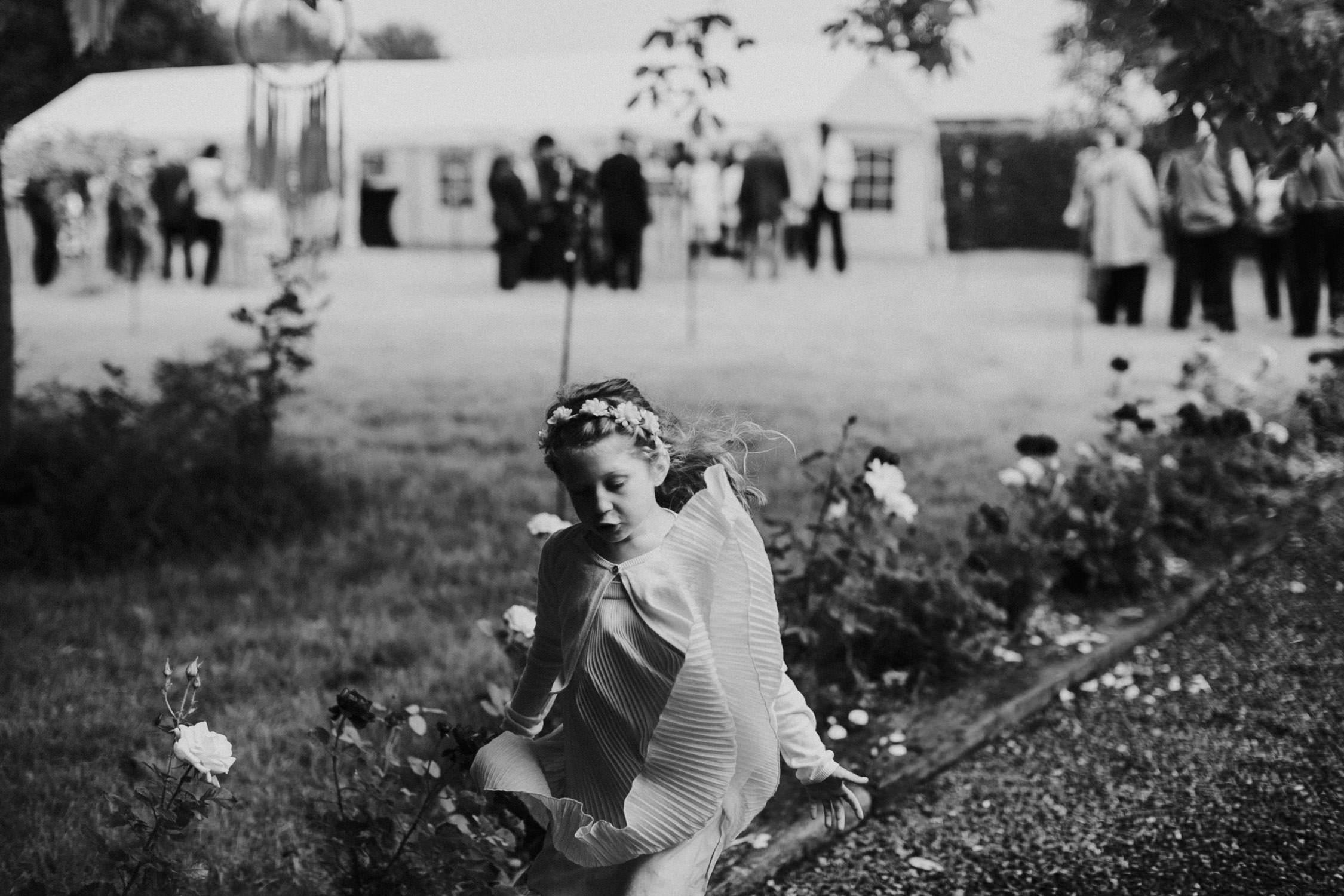 Bruidsmeisje bohemian huwelijk