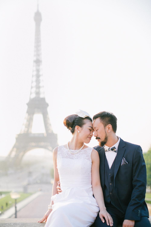 Pre wedding Paris, Trocadéro
