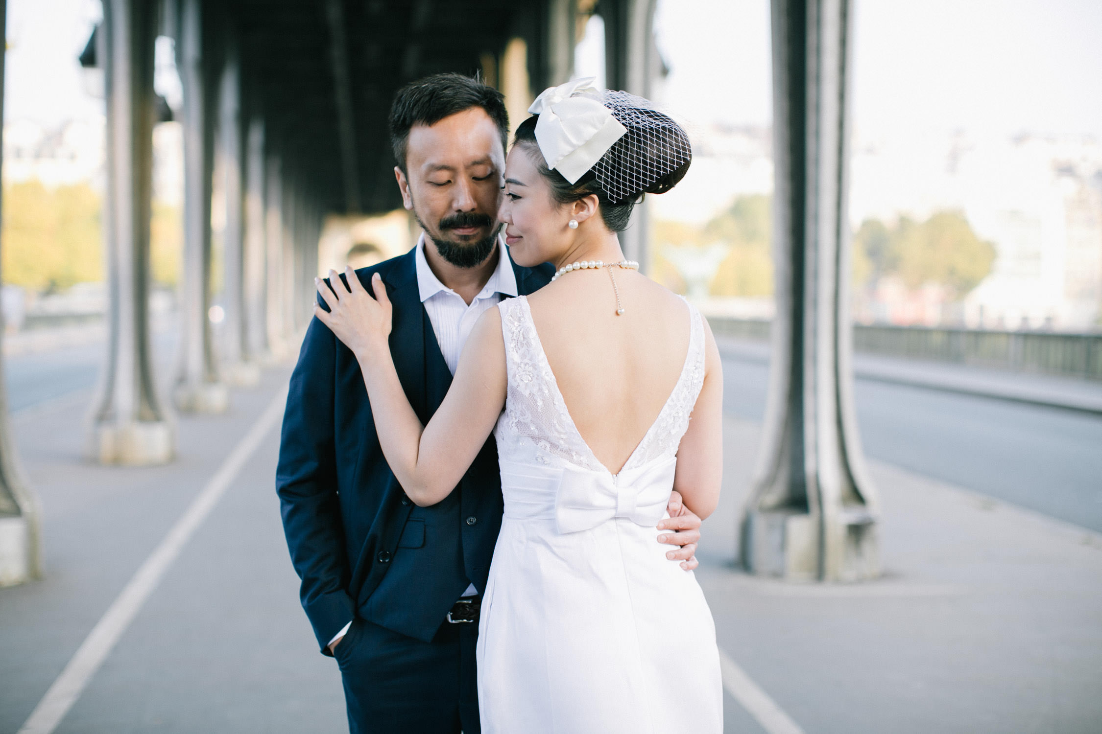 Pre-wedding Paris, Bir Hakim bridge Paris