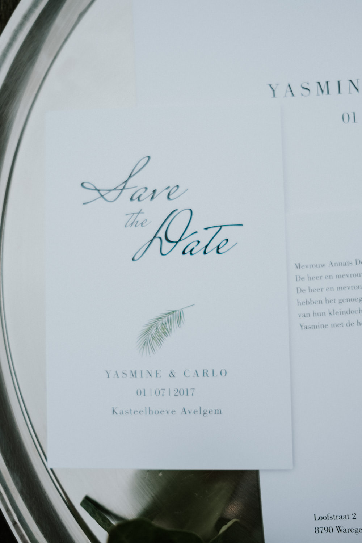 Save The Date, huwelijk Kasteelhoeve