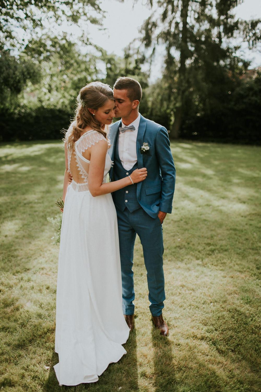 Fotoshoot op huwelijk Kasteelhoeve, Avelgem
