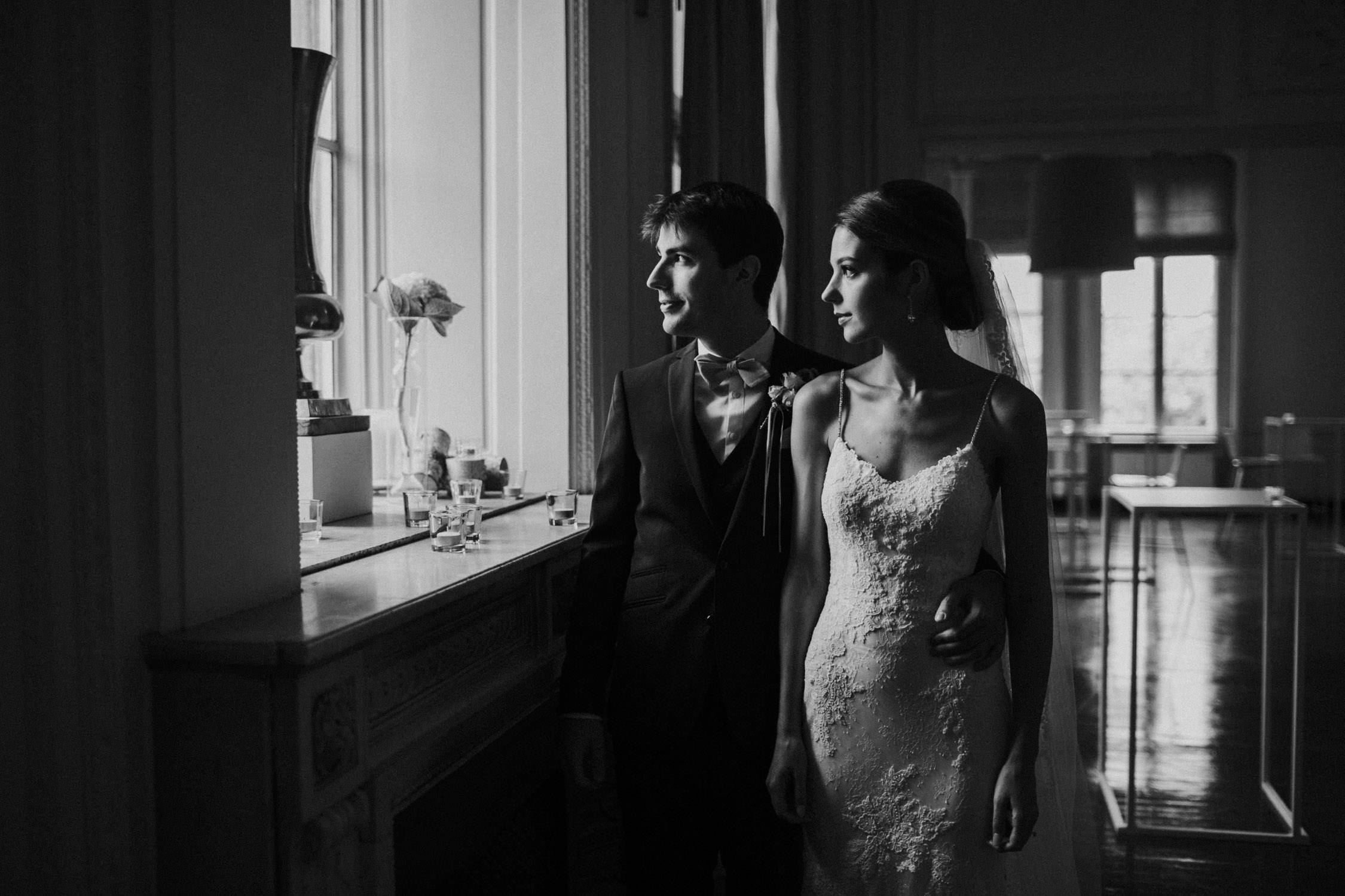 Wedding photography Antwerp, bride and groom