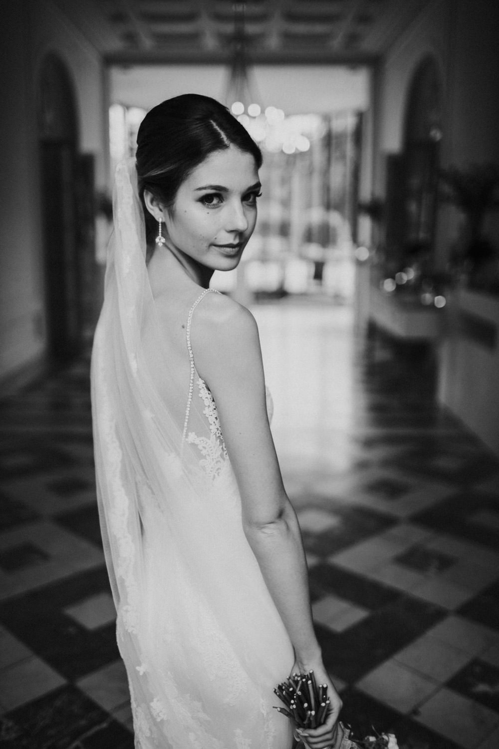 Bride at Castle Van Brasschaat, Antwerp