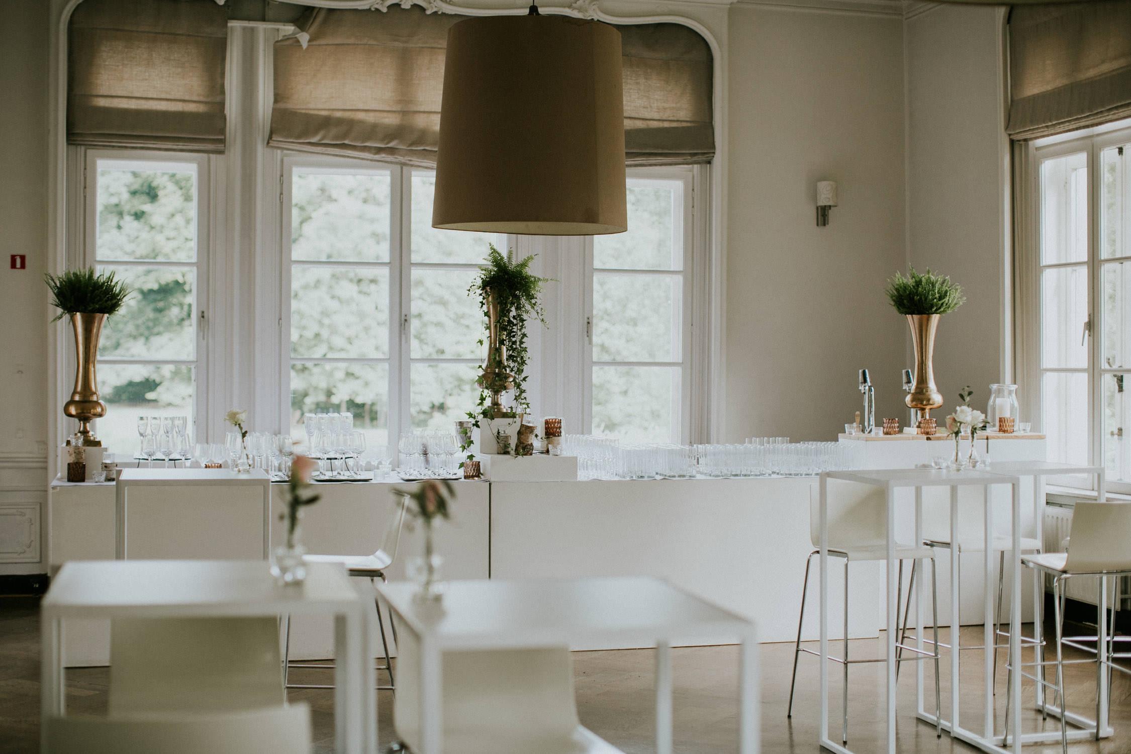 Bar op huwelijk Kasteel Van Brasschaat, Antwerpen