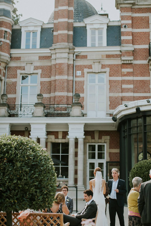 Receptie op huwelijk Kasteel Van Brasschaat, Antwerpen