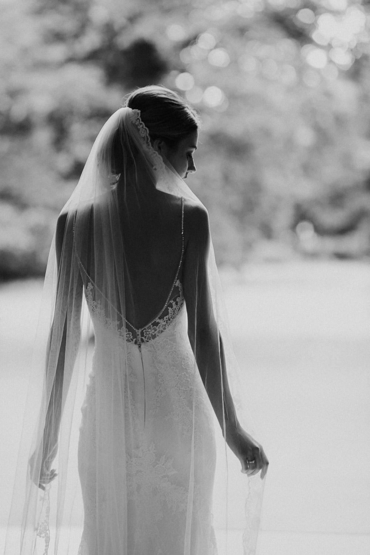 Bruid op huwelijk Kasteel Van Brasschaat, Antwerpen