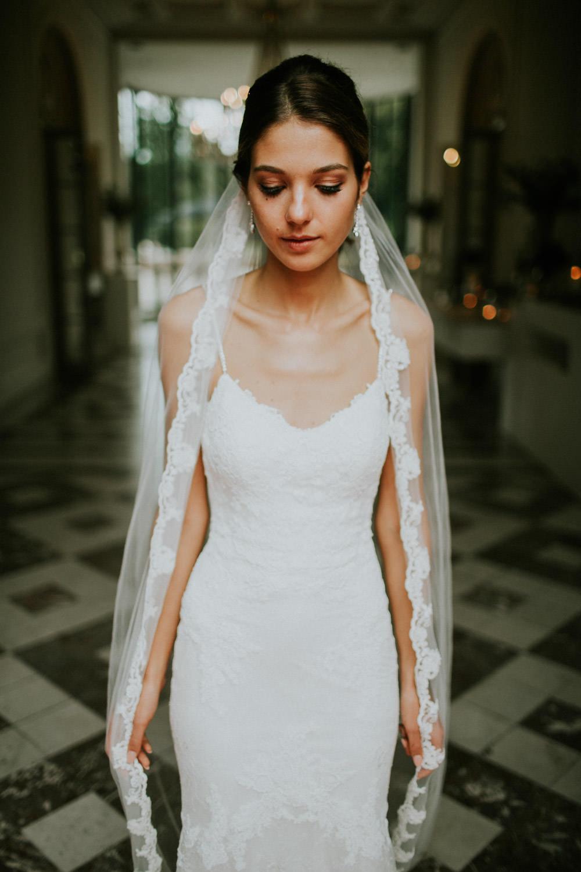 Stijlvolle bruid Kasteel Van Brasschaat, Antwerpen