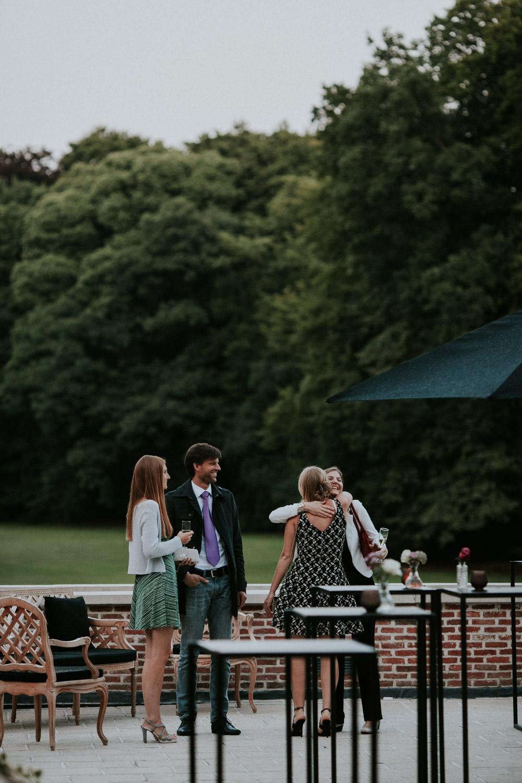 Receptie huwelijk Kasteel Van Brasschaat