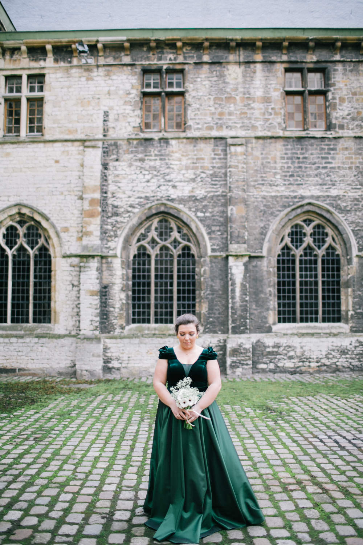 Huwelijksfotografie Gent, bruid