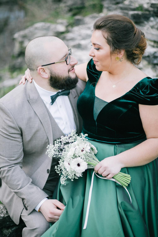 Fotoshoot huwelijk St-Pietersabdij Ghent