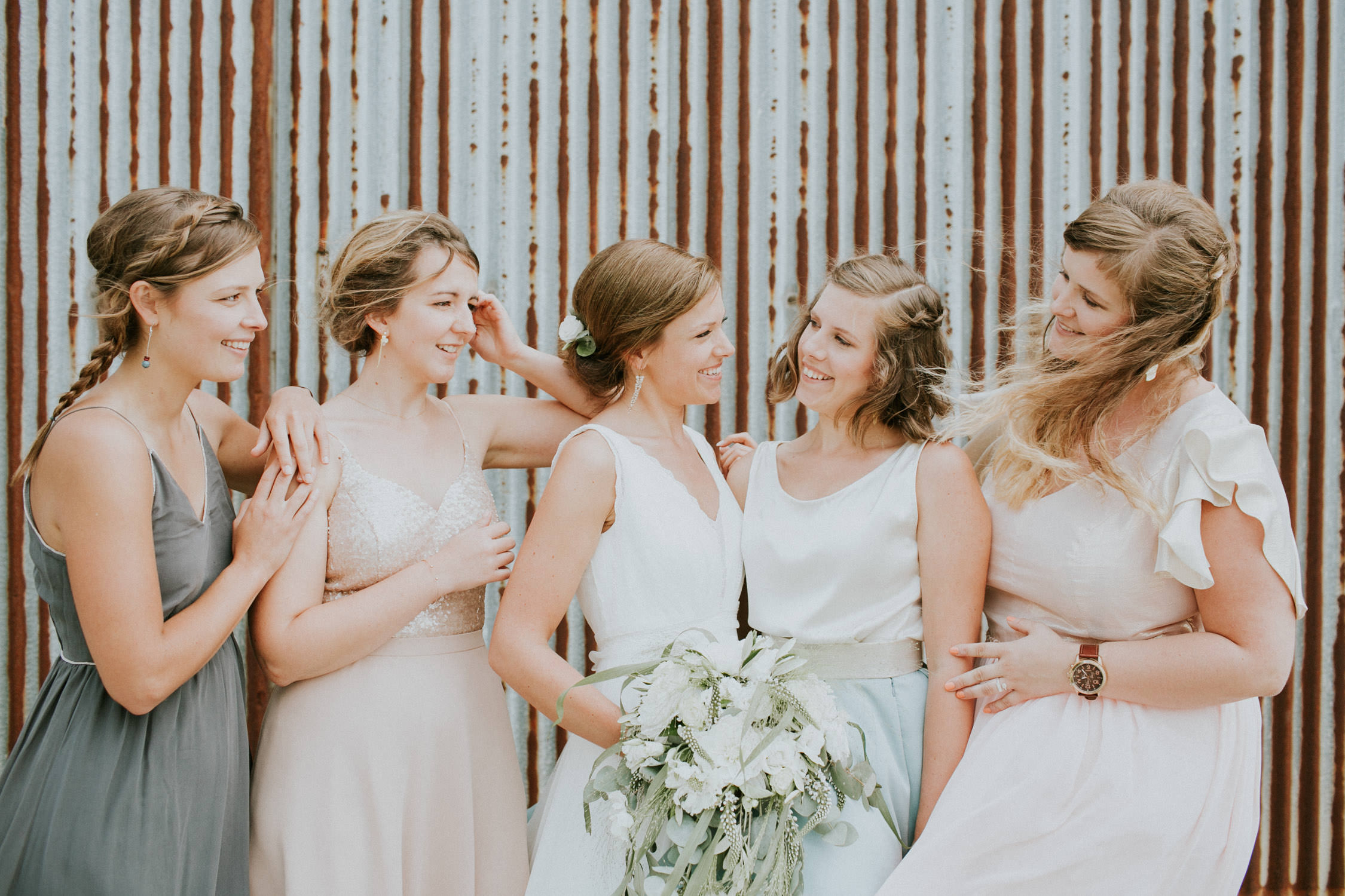 Wedding photography Bridesmaids Hoeve Engelendael, St-Laureins