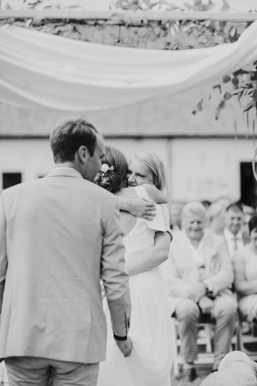 Huwelijksceremonie Hoeve Engelendael, Sint-Laureins