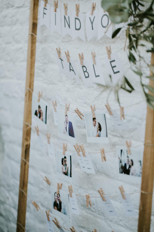 Kaartjes voor tafelindeling, huwelijk Hoeve Engelendael, Sint-Laureins