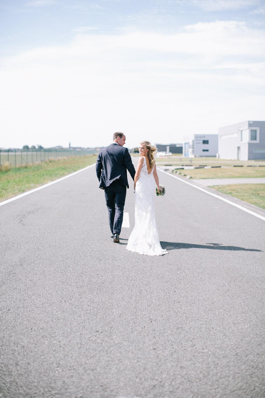 Wedding photography airport Kortrijk, Wevelgem