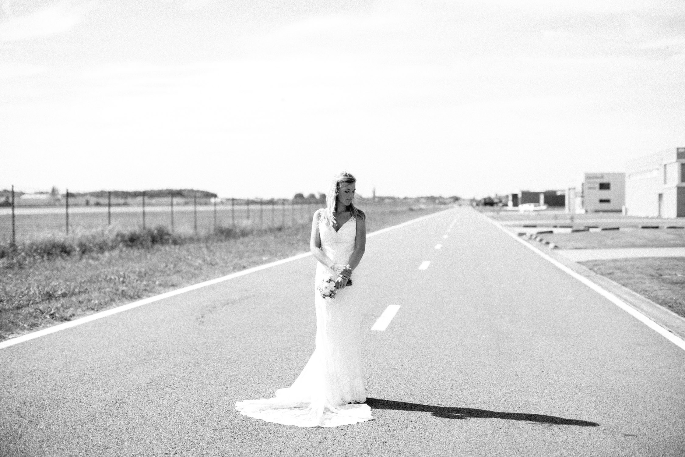 Wedding shoot airport Kortrijk, Wevelgem