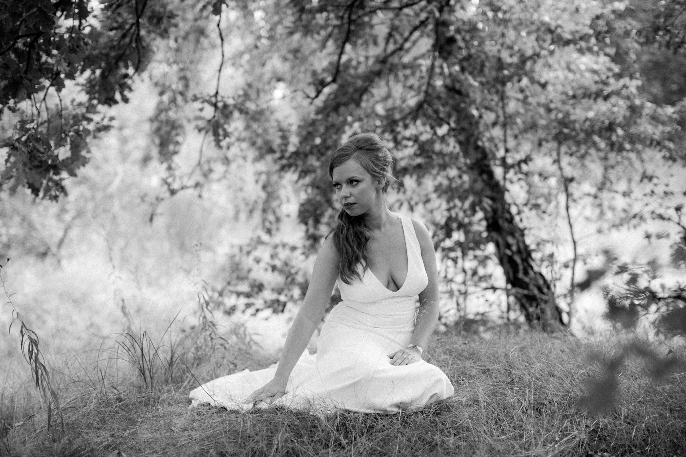 Heide Wetteren huwelijksfotografie bruid