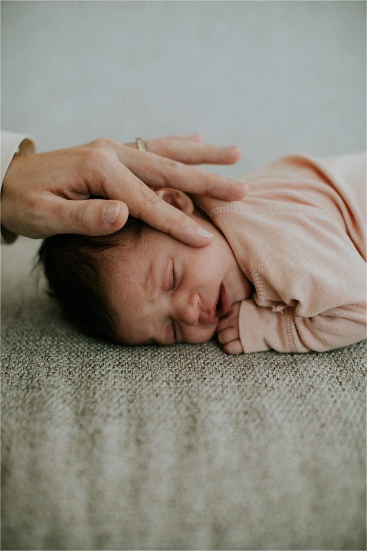 Newborn fotografie met mama