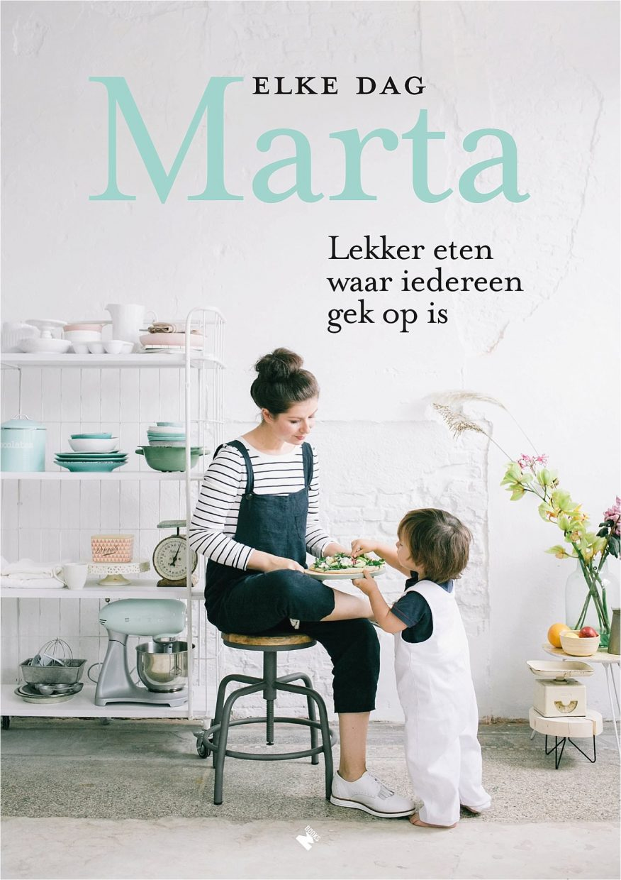 Book Cover Elke dag Marta
