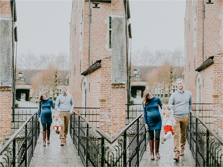 Maternity session Oud Begijnhof Leuven